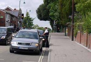 Police seizes foreign EU-cars